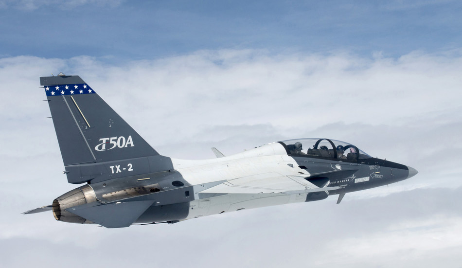 Lockheed Martin's T-50A (TX-2) recently achieved a major milestone reaching the 100 flight mark in Greenville, South Carolina. The T-50A was also featured at the Dayton Air Show in June and most recently at the Joint Base Andrews Air Show Sept. 15-18.