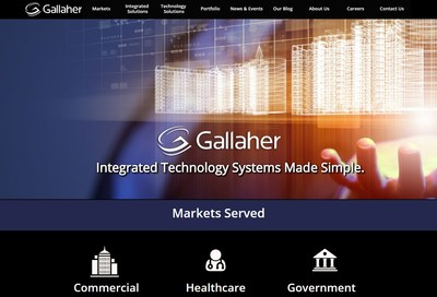In honor of their 44 year anniversary, the new Gallaher website will deliver content that will help business decision makers better understand the advancements in life safety and asset protection technology and how it can positively impact their business.