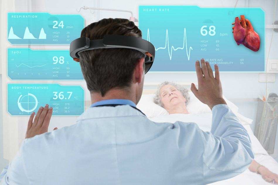 Today, Joule, a CMA company, announced a new partnership with Cloud DX, Inc. to improve access and quality of patient and physician care through mixed reality technologies, such as this clinical 3D view. (CNW Group/Canadian Medical Association)