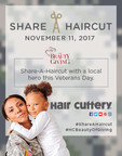 Hair Cuttery's Veterans Day Share-A-Haircut Program to Benefit Former Servicemen and Women Across the Country