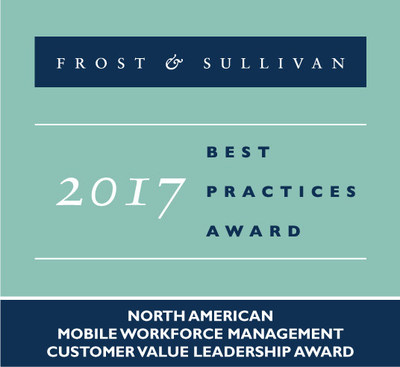 Astea International is honored to receive the Frost & Sullivan 2017 Customer Value Leadership Award for Mobile Workforce Management.