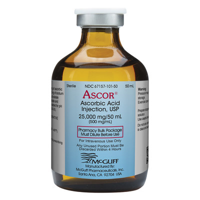 Ascor® (Ascorbic Acid Injection, USP)