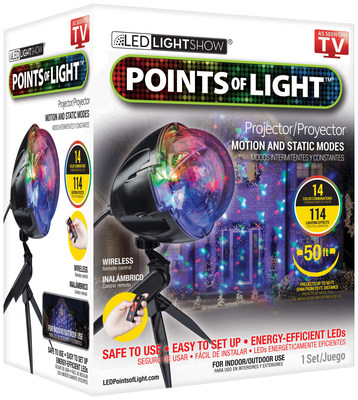 Points of Light is available at Walmart.
