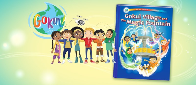 Big, Bold, Beautiful World Media introduced its first children's media property, Gokul! World (www.gokulworld.com) on Oct. 5th. Gokul! World is a multimedia property that prepares children ages 4-7 for success by fostering exploration, understanding and celebration of cultural diversity. The property launched as an illustrated story book and will expand to include digital shorts, an animated series, interactive mobile games, additional books and merchandise.