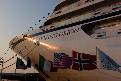 Viking announced that American chemist, emergency room physician and recently retired NASA astronaut, Dr. Anna Fisher will be honored as the godmother to its fifth 930-guest ocean ship, Viking Orion, debuting in July 2018. The new ship has been named after the prominent constellation and in honor of Dr. Fisher's contributions to NASA's Orion exploration vehicle project. For more information visit www.vikingcruises.com.