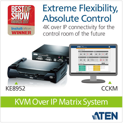 ATEN 4K KVM over IP Matrix System Brings Extreme Flexibility and Absolute Control