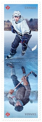Canada Post and USPS joint stamp issue (CNW Group/Canada Post)