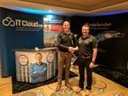 Left to right -David Latulippe (IT Cloud VP – Sales / Business Development) & Peter Nourse (Bitdefender - Business Development Worldwide Director ) (CNW Group/IT Cloud Solutions - Backup \ Synchronisation)