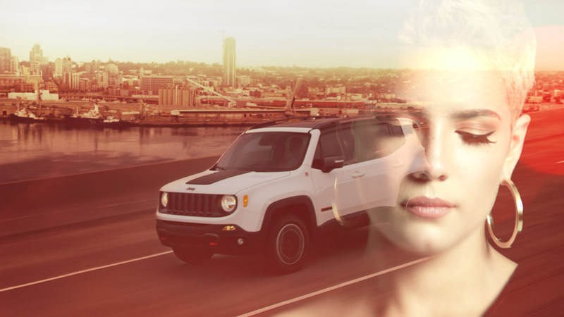 Jeep® launches Release Your Renegade campaign featuring musical artist Halsey