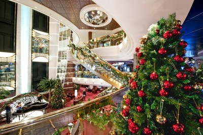 Christmas on board the stunning, ultramodern MSC Divina.