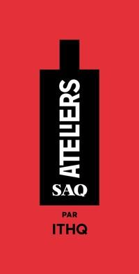 Logo : Ateliers SAQ par ITHQ (Groupe CNW/Institut de tourisme et d'hôtellerie du Québec)