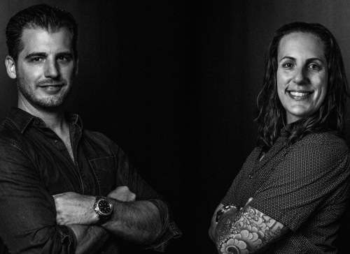 Founder and CEO Ryan Croy and Partner Natacha Gaymer-Jones