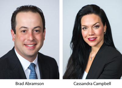 Siegfried Welcomes Brad Abramson and Cassandra Campbell to its Leadership Team