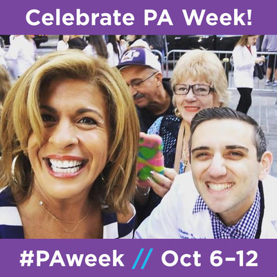 On October 9, PA students will gather for PAs on the Plaza on the set of NBC's The Today Show.