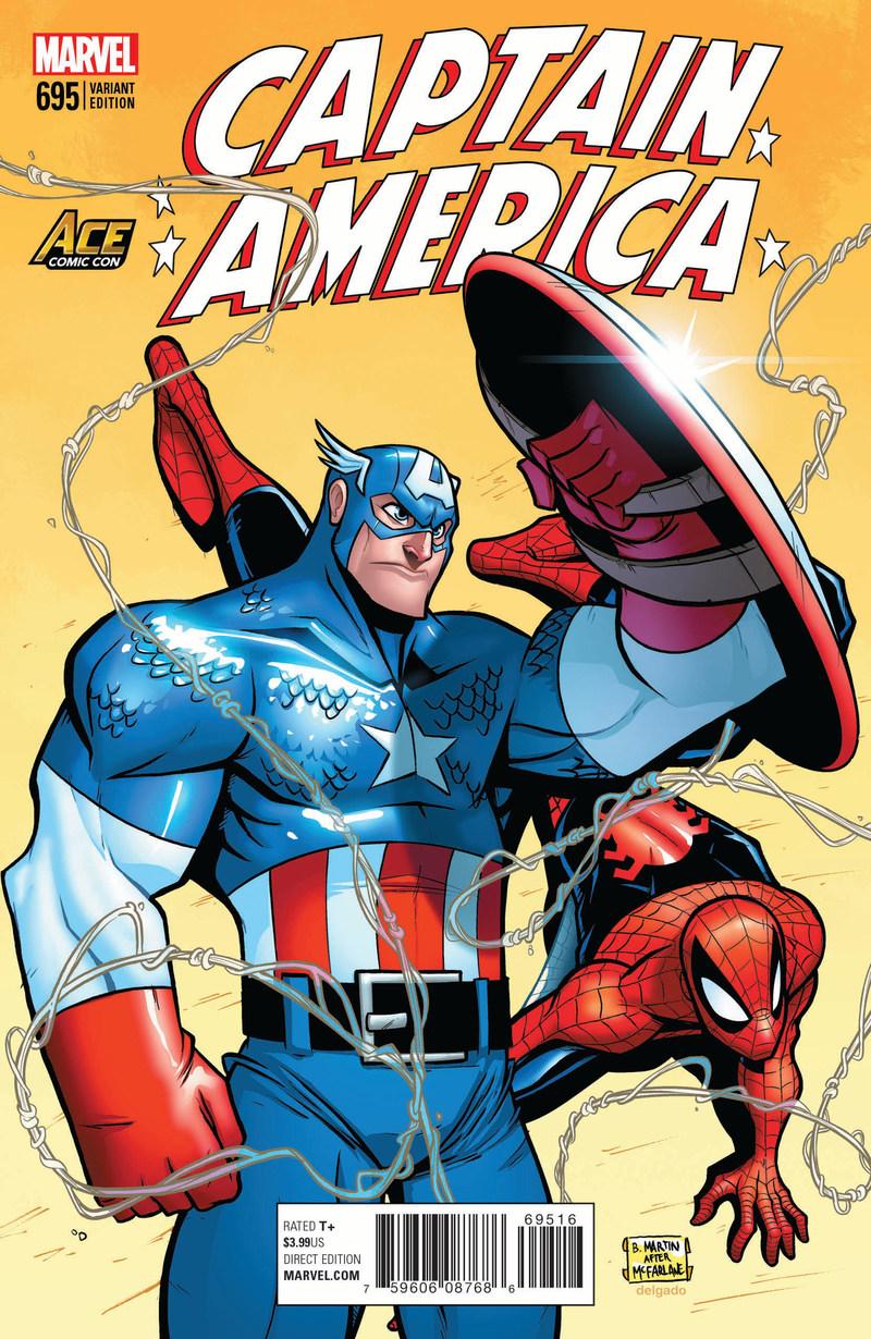 AZ Marvel variant cover - Billy Martin