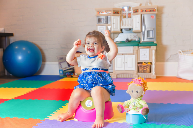 Tot on the Pot - Pediatrician Recommended Potty Training