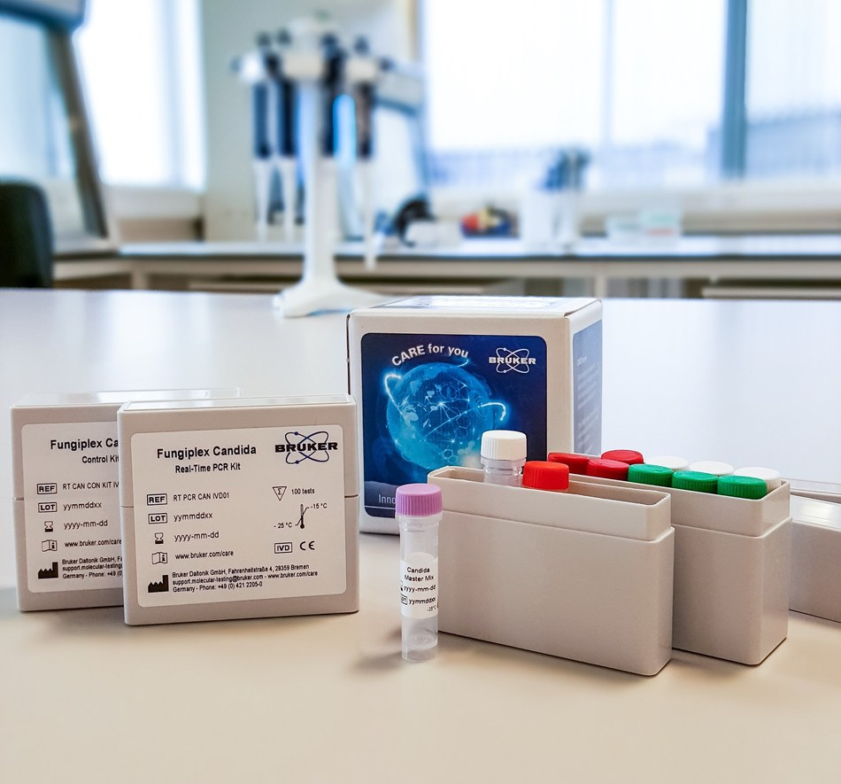 Figure 1: Fungiplex® Candida CE-IVD Real-Time PCR Kit