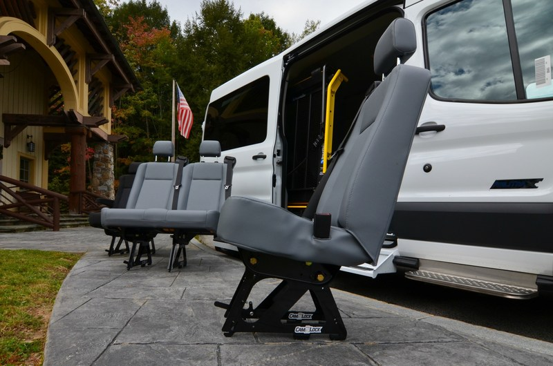 ReMounted Factory Seat- Available in single, double and triple seats