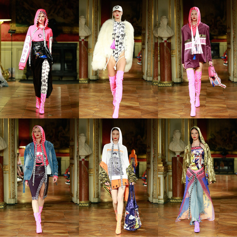 GuangYuYuan inspired runway looks by Chinese designer Big-King