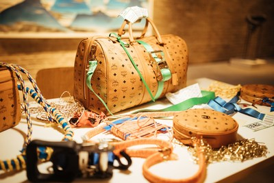 PREVIEW OF KÖNIG SOUVENIR X MCM ART CAPSULE  LAUNCHING AT MIAMI ART BASEL (PRNewsfoto/MCM Worldwide)