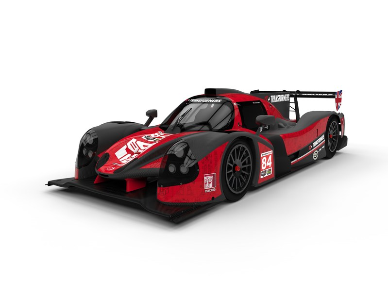 D3+Transformers Racing Unveils New Race Car for 2018 Competition at Petit Le Mans