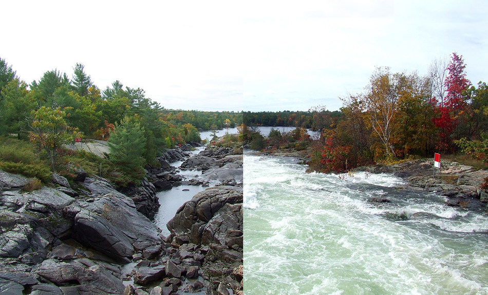 OPG asks public to stay away from dams and hydro stations this Thanksgiving Weekend. (CNW Group/Ontario Power Generation Inc.)