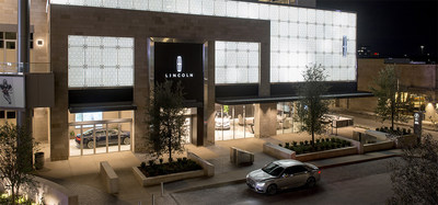 The new Lincoln Experience Center in Frisco, TX