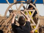 NewSchool of Architecture & Design Students Build Jewish Family Service Sukkah to Celebrate the Jewish Harvest Festival