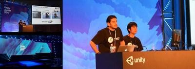 CAO Mir Nausharwan and CTO Akihiro Fujii made a speaker session