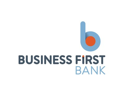 Business First Bank logo (PRNewsfoto/Business First Bank)