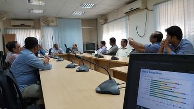 Bangladesh team members participating in the Data Deep Dive