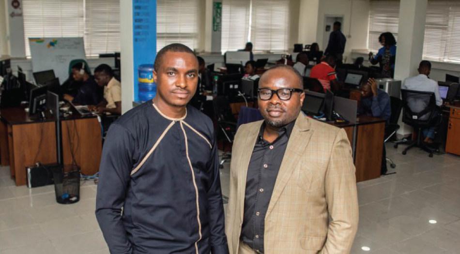 Seamfix Executive Director, Chibuzor Onwurah and Managing Director, Chimezie Emewulu (PRNewsfoto/Seamfix)