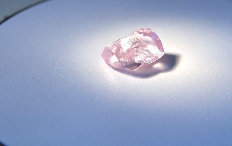 Alrosa's 27.85 carat pink diamond. Source: Alrosa (CNW Group/Paragon International Wealth Management Inc.)