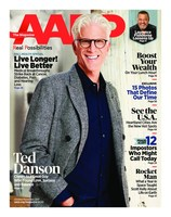 Inside the October/November Issue of AARP The Magazine: TV Icon Ted Danson Opens Up about Love, Success, and Finding Balance in Life