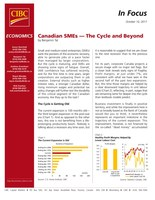 Canadian small businesses show signs of fatigue as confidence wanes: CIBC (CNW Group/CIBC - Economic Research)