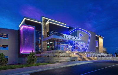 A Topgolf venue in Colorado (PRNewsFoto/Topgolf)