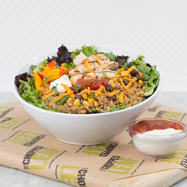 WestJet has partnered with fresh casual restaurant, The Chopped Leaf, to offer the restaurant's whole-foods on board WestJet aircraft. (CNW Group/WestJet)