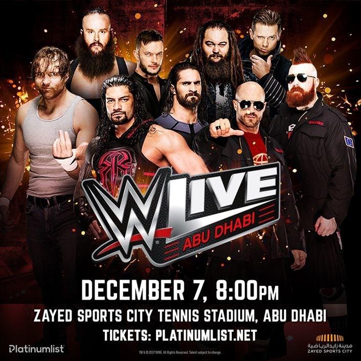 WWE Abu Dhabi Live (PRNewsfoto/WWE)