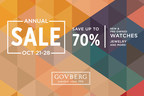 Don't Miss Govberg Jewelers' Annual Sale for Up to 70% Savings