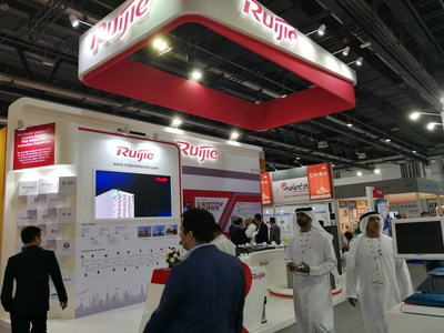 Ruijie exhibited its flagship products and conducted in-depth conversations with visitors at GITEX 2017