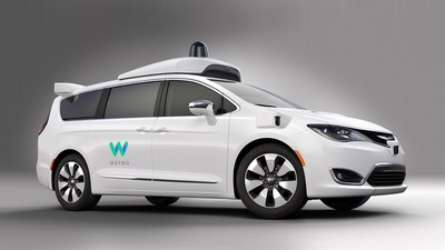Waymo's self-driving Chrysler Pacifica Hybrid is already hauling people in Phoenix