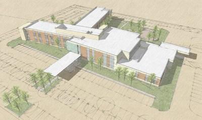 Artist rendering of Vibra's new medical rehabilitation hospital