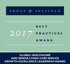 2017 Global Healthcare & the Senior Living Care ServiceGrowth Excellence Leadership Award (PRNewsfoto/Frost & Sullivan)