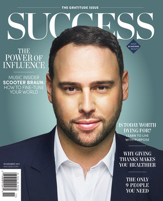 In the November issue of SUCCESS, SB Projects Founder Scooter Braun talks about feeling the need to stand up, make a difference and ignite change.