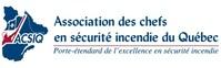 Logo : Association des chefs en sécurité incendie du Québec (Groupe CNW/Association des chefs en sécurité incendie du Québec)