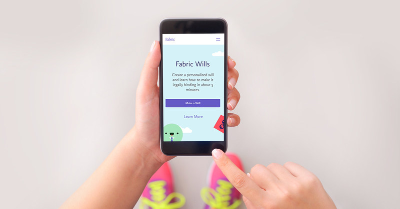 Fabric Wills: It's Simple, Easy, and Free.