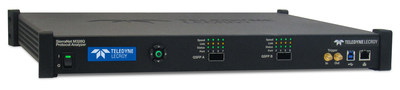 Teledyne LeCroy releases the SierraNet� M328Q Protocol Analysis system, adding to the line of SierraNet Fibre Channel and Ethernet test tools. SierraNet M328Q compliments the SierraNet M328 and T328 platforms by supplying a pair of QSFP28 ports for native QSFP cable support of 50Gb and 100Gb Ethernet connections.