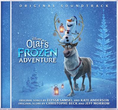 Olafs Frozen Adventure album artwork