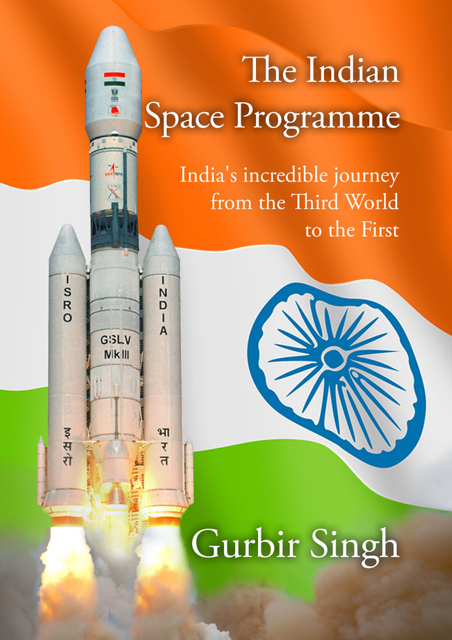 Front Cover - The Indian Space Programme. ISBN: 9780956933737