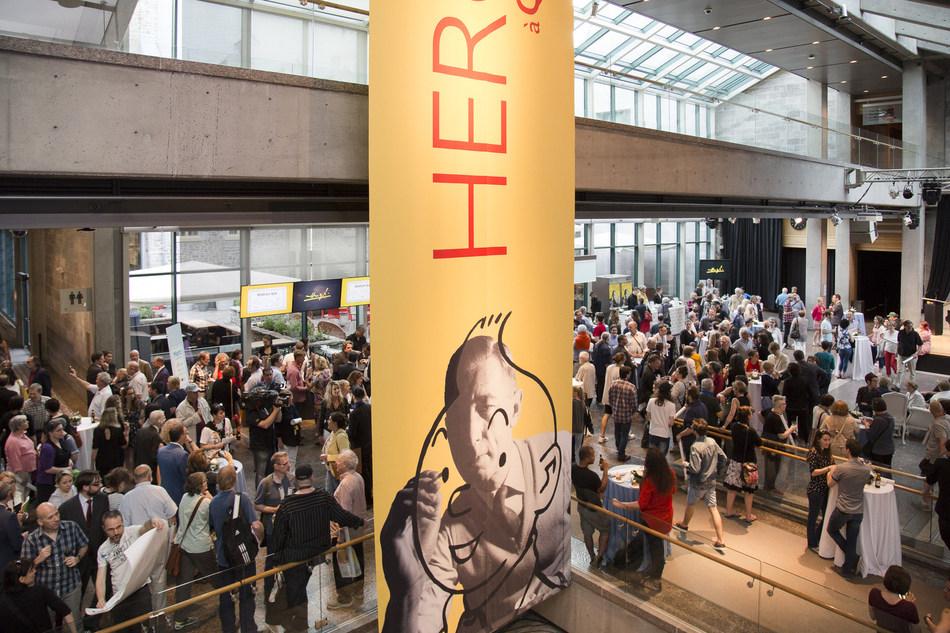 L'exposition Hergé à Québec au Musée de la civilisation est prolongée jusqu'au 3 décembre 2017 ! Depuis son inauguration, près de 350 000 personnes ont franchi les portes de l'institution muséale nationale. (Groupe CNW/Musée de la civilisation)
